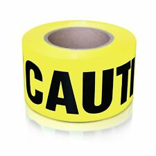 Xfasten Caution Tape Roll Barricade Construction Tape 3 Inch X 1000 Foot Fa