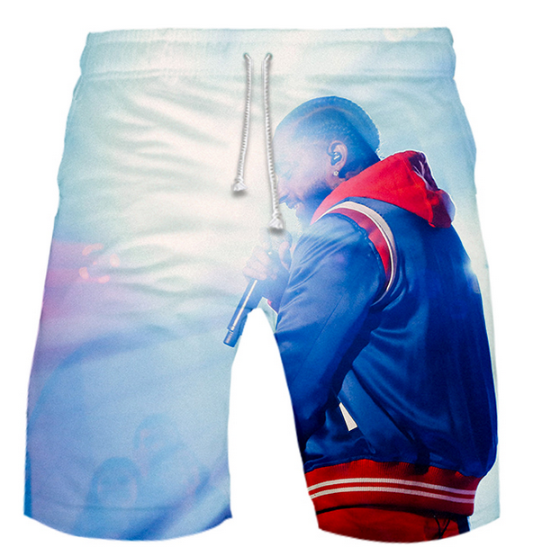 NREALY Shorts Mens Casual Camouflage Printing Beach Pocket Surfing Swimming Loose Short Pants