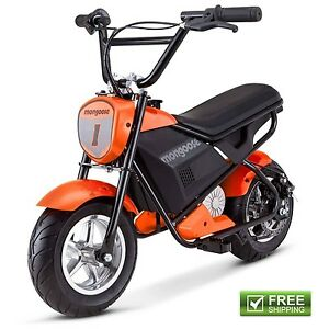 mongoose mini electric bike scooter rechargeable battery powered ride on toy 38675124103 ebay. Black Bedroom Furniture Sets. Home Design Ideas