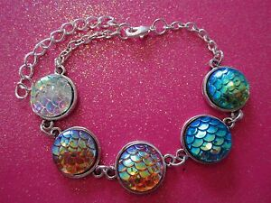 Multi Color Mermaid Bracelet Ebay
