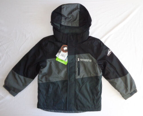 Boys Free Country Black Grey Water Wind Resistant Performance Jacket Multi Sizes