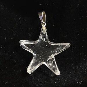 Colgante estrella cuarzo cristal roca 253 cm pendant star crystal la imagen se est cargando colgante estrella cuarzo cristal roca 2 5 3 aloadofball Images