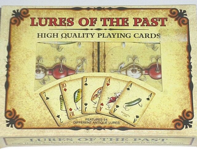 """Rivers Edge """"Lures of the Past"""" Playing cards (2/deck pack)"""