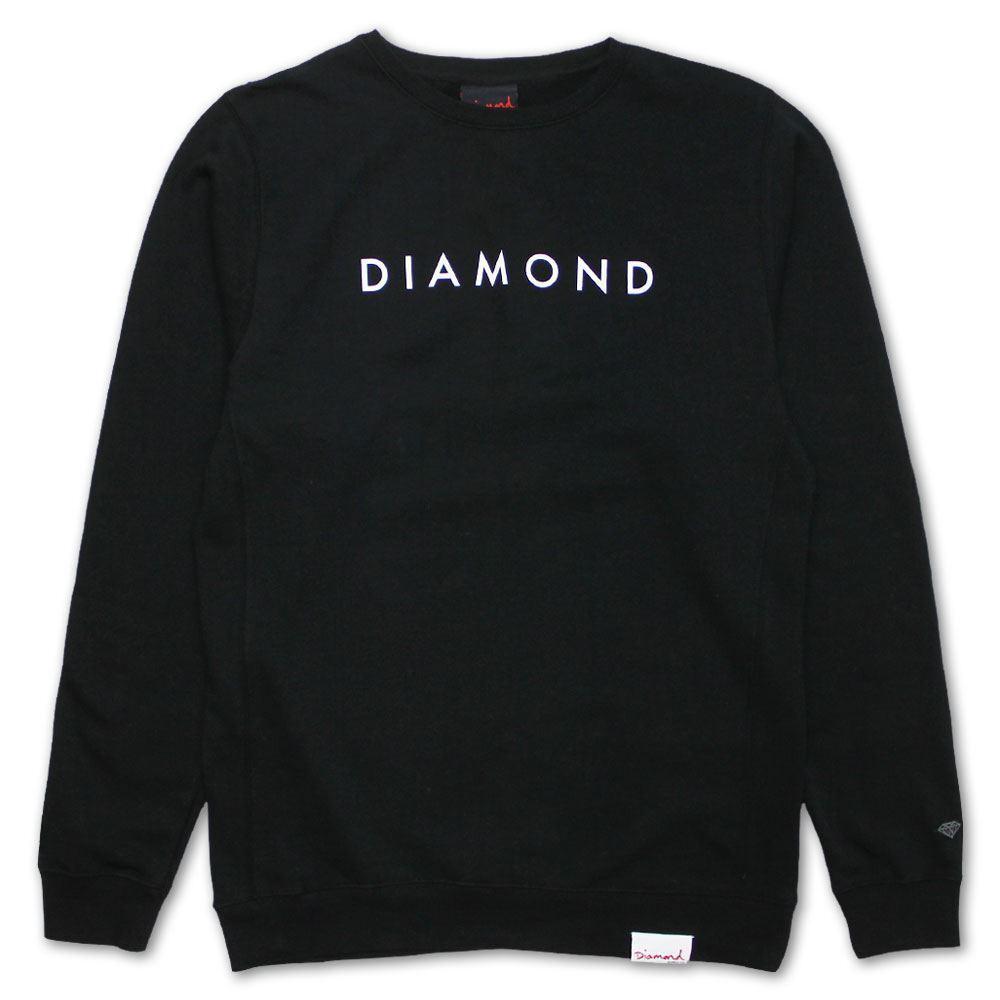 Diamond Supply Co Futura Sweatshirt Schwarz