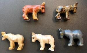 Peruvian-Dolomite-DONKEY-Spirit-Totem-Animal-Figurine