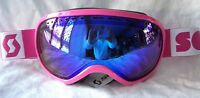 $120 Scott Womens Off Grid Plus Rose Pink Winter Snow Ski Goggles Ladies Roxy