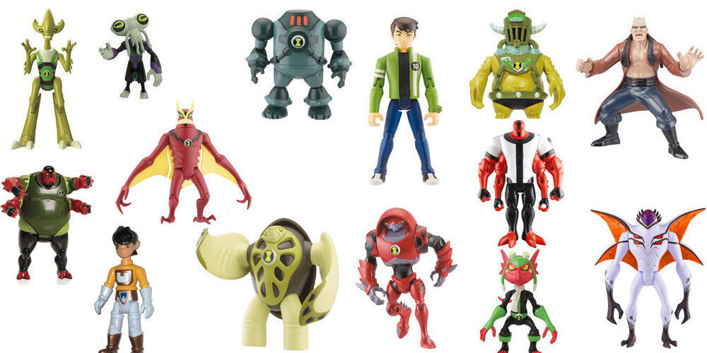 14 x Ben 10 Ten Figures Set Job Lot 10cm Bundle 14