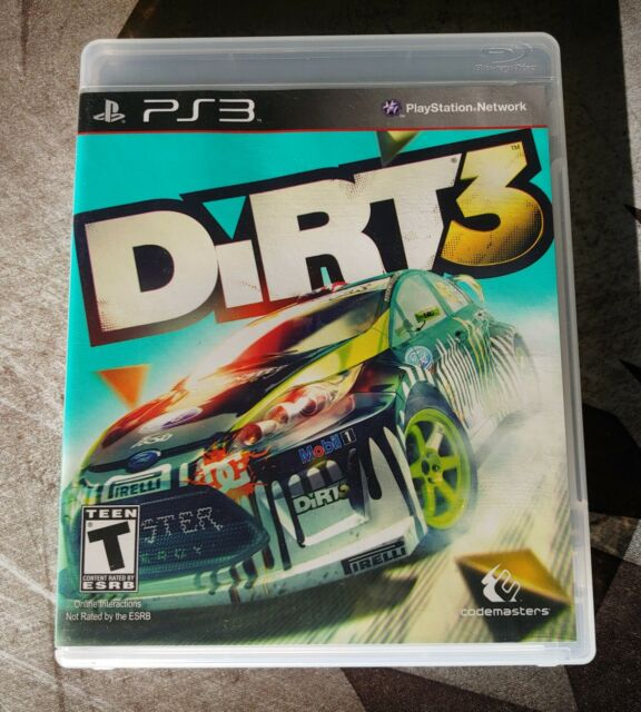 DIRT 3 PS3 PLAYSTATION VIDEO GAME CODEMASTERS with Manual