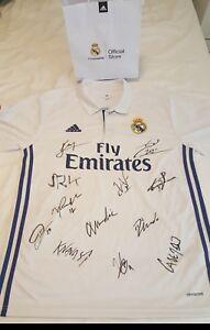 Signed-shirt-Camiseta-Real-Madrid-firmada-ganadores-13-Copa-Europa
