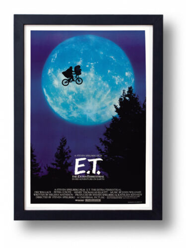 A4 Size  E.T The Extra Terrestrial Vintage Movie Poster A3 Classic Wall Art