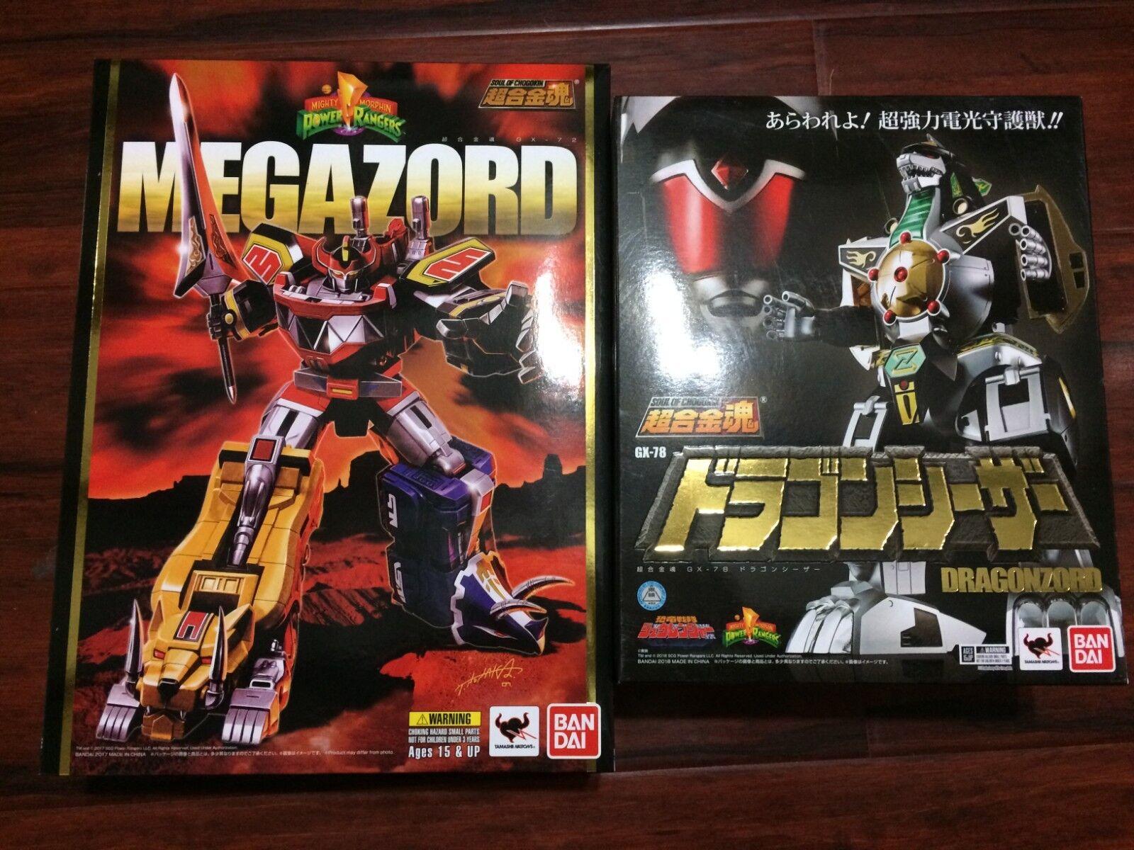 disfrutando de sus compras Soul Of Chogokin GX-72 Mighty Morphin Megazord y GX-78 GX-78 GX-78 verde (Ultrazord)  precios bajos