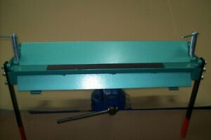 """Sheet metal bender, manual 630mm (24.8"""") / 1.5mm H-45 bending sheet metal box"""