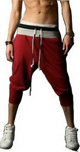Jeansian-Mens-Casual-Sport-Rope-Short-Pants-Jogging-Gym-4-Colors-5-Sizes-S300