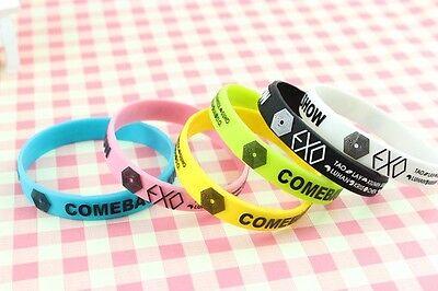 EXO Overdose KPOP wristband BRACELET X6 NEW