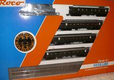 G16  Roco  43032 Zugset 5 teilig E LOK E 44 064 + 4 Wagen DRG ungenutzt