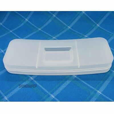 1 X Matte Clear Case Box Pouch Protector for Clip On Lens Sunglasses Plastic New