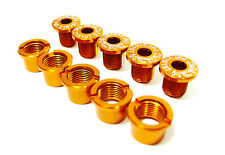 KCNC SPB004 Road CX Mountain Bike Crank Chainring Bolts Nuts for Triple Gold