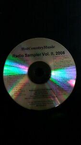 Hot-Country-Music-Radio-Sampler-Vol-II-2008-Various-Rosebud-Records