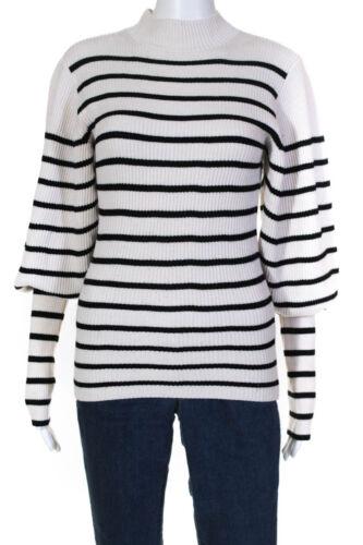 Khaite Womens Joanne Puff Sleeve Sweater Size 129… - image 1
