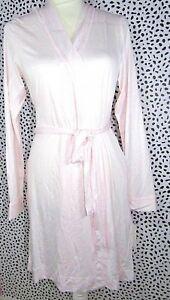 009c1a2957 UGG Women s Aldridge Mini Stripe Seashell Pink White Short Robe Size ...