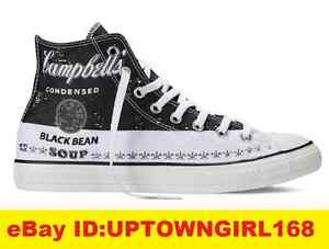 05001aa3306ce0 Converse Chuck Taylor All Star Hi Andy Warhol Campbell Black Bean ...