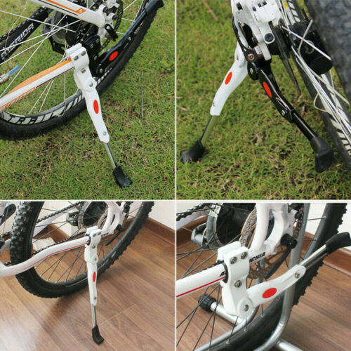 Adjustable Heavy Duty Mountain Bike Bicycle Cycle Prop Side Rear Kick Stand YS6