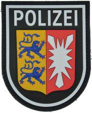 Rubberpatch Patch Polizei Schleswig-Holstein SEK BFE Spezialeinheit farbig