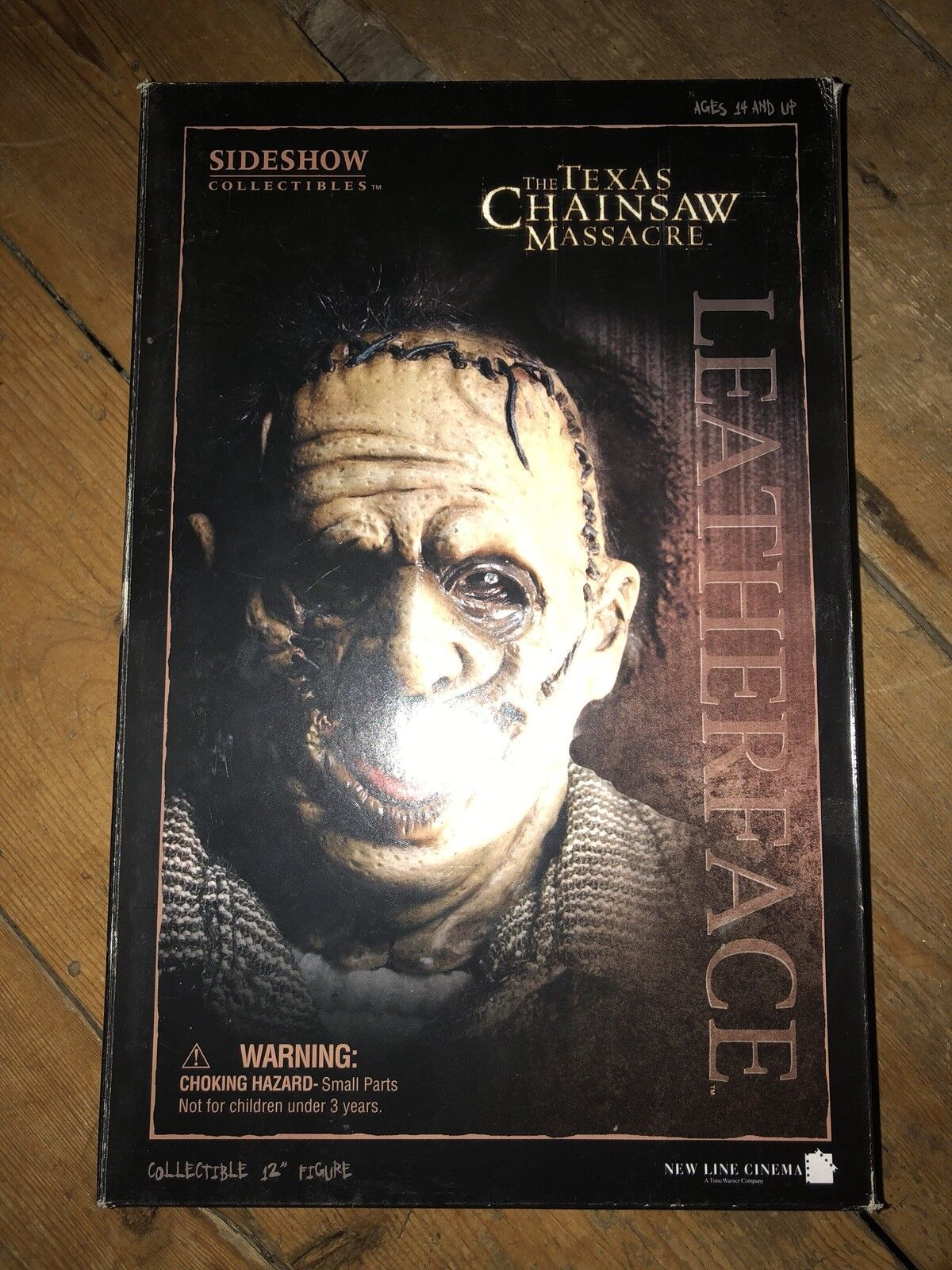 Sideshow Texas Chainsaw Massacre cuoio Thomas Hewitt afssc 127