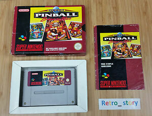 Super-Nintendo-SNES-Super-Pinball-Behind-The-Mask-PAL