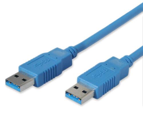 A Stecker 1m USB 3.0 Superspeed Kabel Stecker A//A bis 5Gb//s Highspeed A