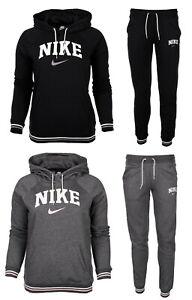 Nike damen trainingsanzug sweatanzug jogginganzug