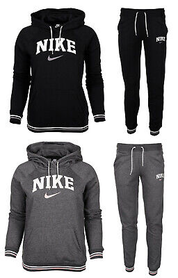 Nike damen trainingsanzug sweatanzug jogginganzug