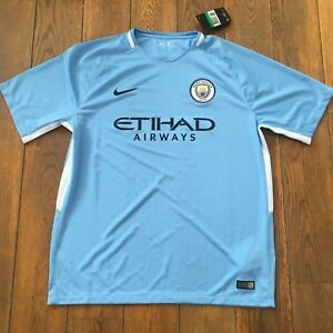 NIKE-MANCHESTER-CITY-FC-HOME-STADIUM-BLEU-Taille-XL-Neuf