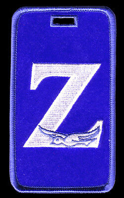 """Zeta Phi Beta /""""letters with Dove/"""" Luggage Tag  L@@K AT THIS!"""