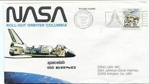 1980 Nasa Roll-out Orbiter Columbia Spacelab Esa Erno Space Shuttle Kennedy Sc