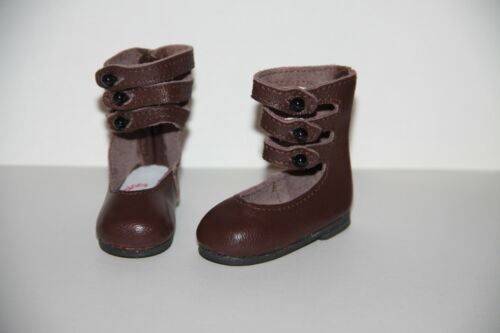 Jasmines Cottage Olivia Brown Leather Doll Shoe SD 70mm fits Wiggs /& Lasher