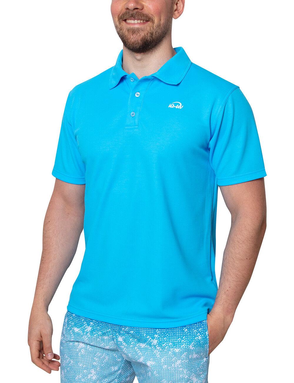 Iq UV 50+ Polo men UV Shirt (Hawaii) 515122 - Nuovo