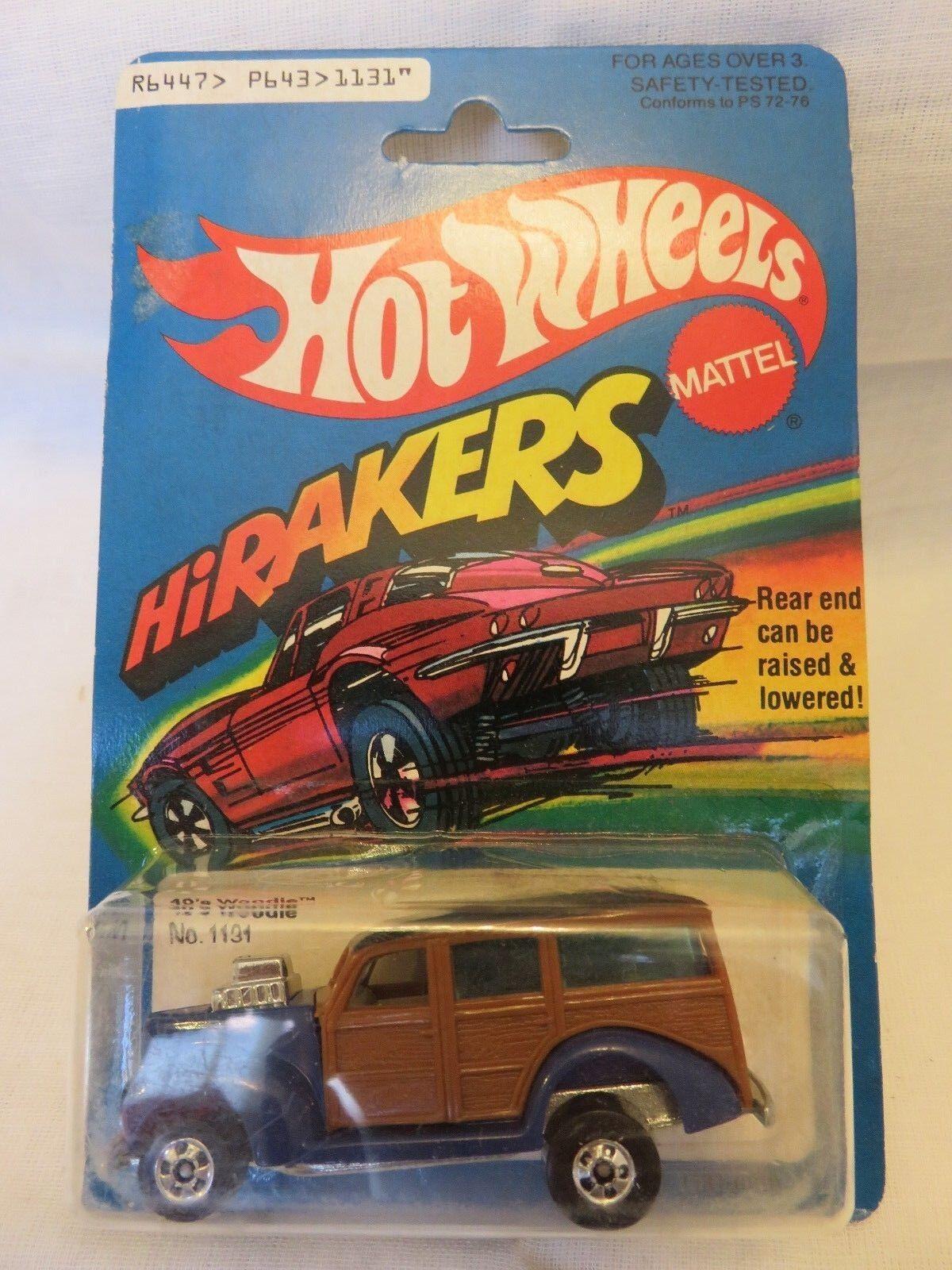 1979 Vintage Hot Wheels 40's Woodie HiRakers Die-Cast Car A