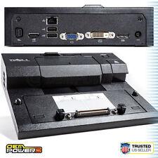 Dell E-Port Replicator Dock Station PR03X E4200 E4210 E4300 E4310 E6220 E6230