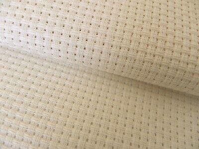 Cream Ivory 8 count Binca Zweigart Aida 50 x 60 cm ideal for children/'s sewing