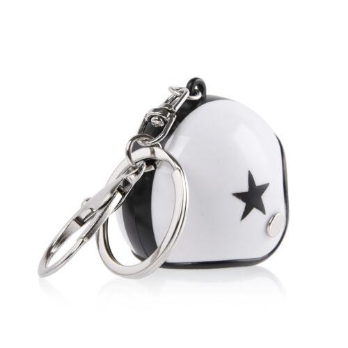 Motorcycle Mini Helmet Key Chain Ring keychain Keyring Men Woman Kid Xmax Gift