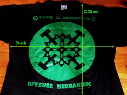⛔️ TYPE O NEGATIVE ⛔️ 1992 Offense Mechanism XL Sh