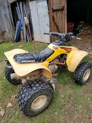 Honda Four Wheelers For Sale >> 2003 Honda 300ex Four Wheeler For Sale Its Yellow And Black
