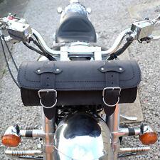 MOTORCYCLE LEATHER LARGE TOOL ROLL SADDLE BAG TRIUMPH ROCKET THUNDERBIRD