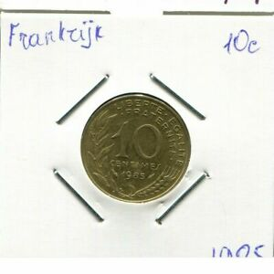 10-CENTIMES-1985-FRANCIA-FRANCE-French-Coin-AM826EW
