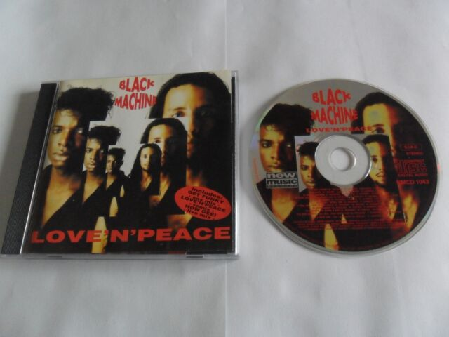 Black Machine - Love`N`Peace (CD 1993) Electronic