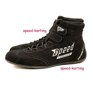 Speed-Standard-Kartschuhe-schwarz-034-San-Remo-KS-1-034-Karting-Go-Kart-Motorsport