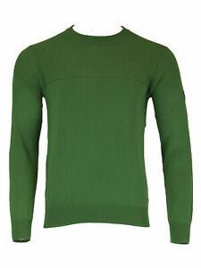 GANT-Men-039-s-Kelly-Green-O1-Tech-Prep-Texture-Crew-81240-NWT