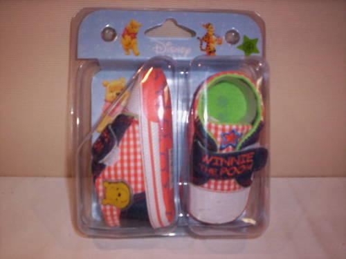 3 6 mesi Scarpe scarpine Disney Winnie The Pooh neonata neonato bimba shoes 17
