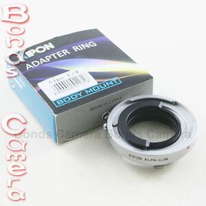 b36231eb1901 Details zu Kipon Alpa Kern Switar 50mm 1.8 1.9 Lens to Leica M 6-bit  adapter M9 RF coupled